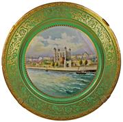 Sale 8332C - Lot 17 - Minton The Tower of London Plate