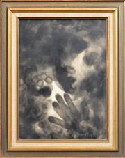Sale 8374 - Lot 557 - David Boyd (1924 - 2011) - Untitled, 1967 39 x 28.5cm