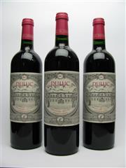 Sale 8313 - Lot 444 - 3x 2007 Duluc de Branaire-Ducru - Second wine of Chateau Branaire-Ducru, St-Julien