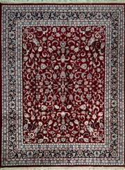 Sale 8370C - Lot 73 - Indo Persian Kashan 250cm x 300cm