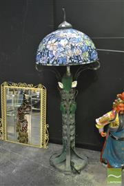 Sale 8368 - Lot 1011 - Large Ornate Standard Lamp