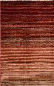 Sale 8390C - Lot 20 - Afghan Chobi Stripe 152cm x 94cm