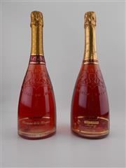 Sale 8514 - Lot 1769 - 2x NV Jean-Louis Ballarin Cremant de Bordeaux Rose - 1x Marquise de la Mingarie, 1x Milady