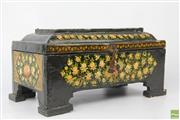 Sale 8594 - Lot 82 - Indian Lacquer Ware Jewellery Box