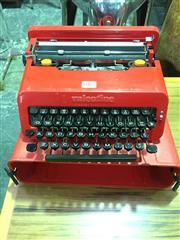 Sale 8643 - Lot 1064 - Vintage Olivetti Valentine Cased Typewriter