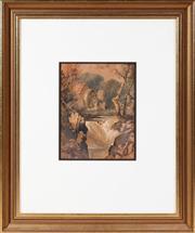 Sale 8650A - Lot 10 - Conrad Martens - The Water Mill 27 x 20cm