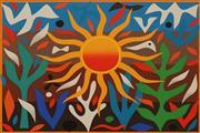 Sale 8658A - Lot 5044 - John Coburn (1925 - 2006) - Summer 48 x 72cm