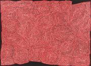 Sale 8696 - Lot 523 - George Ward Tjungurrayi (c1945 - ) - Tingari, 2005 153 x 205cm