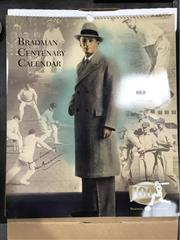 Sale 8863S - Lot 57 - Don Bradman Centenary Cricket Calendar. A huge limited edition for 2008, heavily illustrated.