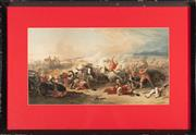 Sale 8873A - Lot 45 - A chromolithographic print of the Field of Preston