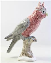 Sale 8994W - Lot 692 - An Australian Ceramic Galah H: 34cm