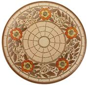 Sale 8342 - Lot 14 - Charlotte Rhead Floral Charger