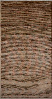 Sale 8390C - Lot 21 - Afghan Chobi Stripe 195cm x 100cm