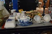 Sale 8396C - Lot 34 - Royal Doulton Lynn Platter with Other Wares incl. Enoch Wedgwood Dishes