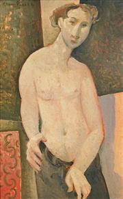 Sale 8467 - Lot 507 - Glen Preece (1957 - ) - Self Portrait 21.5 x 13.5cm