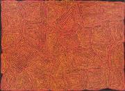 Sale 8733A - Lot 5018 - George Ward Tjungurrayi (c1945 - ) - Tingari, 2005 149 x 205cm