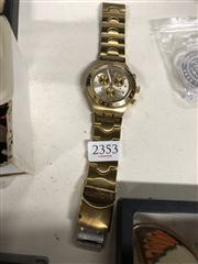 Sale 8819 - Lot 2353 - Stainless Steel Swatch Irony Wrist Watch ( Missing Pin AF )