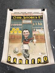 Sale 8859 - Lot 1004 - An Early English Dan Leno Theatre Poster