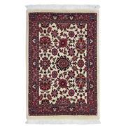 Sale 8911C - Lot 77 - Persian Fine Bidjar Rug, 90x60cm, Silk & Wool Inlaid
