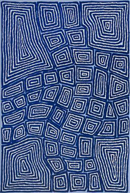 Sale 9128A - Lot 5076 - Thomas Tjapaltjarri (c1964 - ) - Tingari, 2012 90 x 60 cm (stretched and ready to hang)