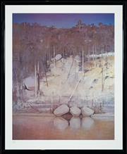 Sale 8427 - Lot 512 - Arthur Boyd (1920 - 1999) - Shoalhaven 68 x 55cm