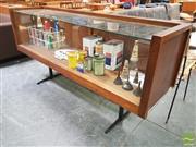 Sale 8435 - Lot 1009 - Vintage Glass Front Display Cabinet