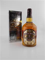 Sale 8498 - Lot 2013 - 1x Chivas Regal 12YO Blended Scotch Whisky - 1000ml in box