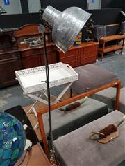 Sale 8688 - Lot 1022 - Metal Lamp on Tripod base