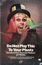 Sale 8711 - Lot 2089 - Vintage DO NOT PLAY THIS TO YOUR PLANTS Poster