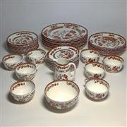 Sale 8878T - Lot 28 - Spode Indian Tree Dinner Setting for 8 Persons Comprising of 8 Cup, Saucer & Plate Sets, 8 Side Plates, 8 Main Plates, Milk Jug &...