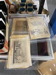 Sale 8995 - Lot 2067 - 3 Coloured Engravings: Epson Races; Highbury College; Easter Hunt; & Boston Ephemera