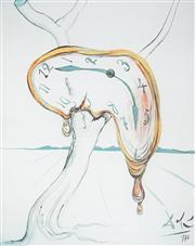 Sale 9009A - Lot 5018 - Salvador Dali (1904 - 1989) - Tearful Soft Watch 53 x 41 (frame: 100 x 82 x 5 cm)