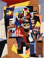 Sale 8286 - Lot 525 - Pablo Picasso (1881 - 1973) - La cage a oiseeaux 228 x 175cm