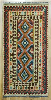 Sale 8589C - Lot 21 - Persian Killem Chobi, 205x105
