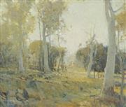 Sale 8722 - Lot 601 - Glen Preece (1957 - ) - A Quiet Landscape 51 x 61cm