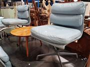 Sale 8723 - Lot 1066 - Set of 4 Eames Soft Pad Desk Chairs by Herman Miller