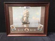 Sale 9053 - Lot 2066 - Players Navy Cut Advertisement, 43 x 53 cm