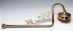Sale 9156 - Lot 30 - An elaborate brass shower head (L:75cm)