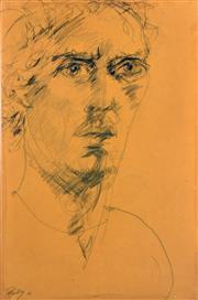 Sale 8339A - Lot 527 - Craig Ruddy (1968 - ) - Untitled, 2007 (Portrait) 60 x 40cm