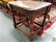 Sale 8465 - Lot 1019 - Pair of Oak Side Tables