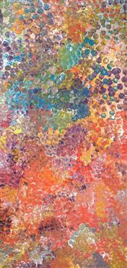 Sale 8467 - Lot 541 - Polly Ngale (c1940 - ) - Bush Plum 202 x 94cm