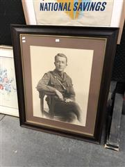 Sale 8903 - Lot 2094 - Antique Photograph of a WWI Solider