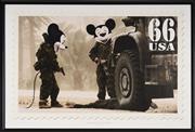 Sale 9081A - Lot 5067 - Jim Cauty - Dead Dad 1, Operation Magic Kingdom, 2007 59.5 x 90 cm (frame: 64 x 95 x 2 cm)