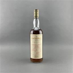 Sale 9120W - Lot 1401 - 1963 The Macallan Distillers 25YO 'Anniversary Malt' Single Highland Malt Scotch Whisky - bottled 1988, some evaporative losses, 43%.