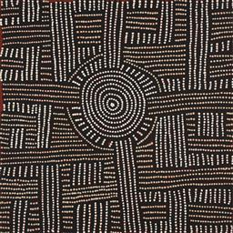 Sale 9221JM - Lot 5092 - BAMBATU NAPANGARDI (C1940 - ) My Country acrylic on linen 60 x 60 cm (stretched and ready to hang) signed verso, The Artery stamp ve...