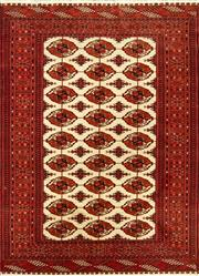 Sale 8335C - Lot 88 - Superfine Persian Turkman Silk 180cm x 132cm