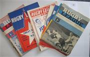 Sale 8404S - Lot 33 - 1962 Rugby League News Programmes - Vol. 43,
