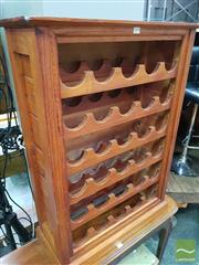 Sale 8465 - Lot 1078 - Timber Wine Rack