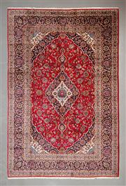 Sale 8493C - Lot 15 - Persian Kashan 377cm x 245cm