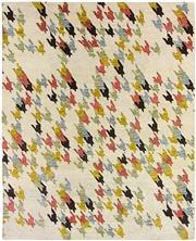 Sale 8626A - Lot 102 - A Cadrys Scandi Tribal Handspun Wool Carpet, Size; 300x250cm, RRP; $5100